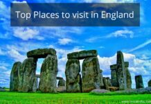 Top Places to visit in England