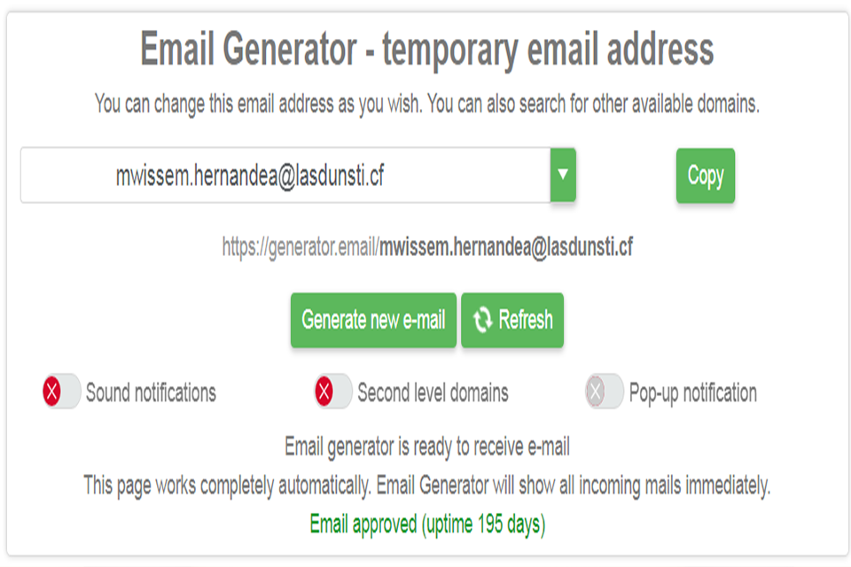 Free edu email Generators