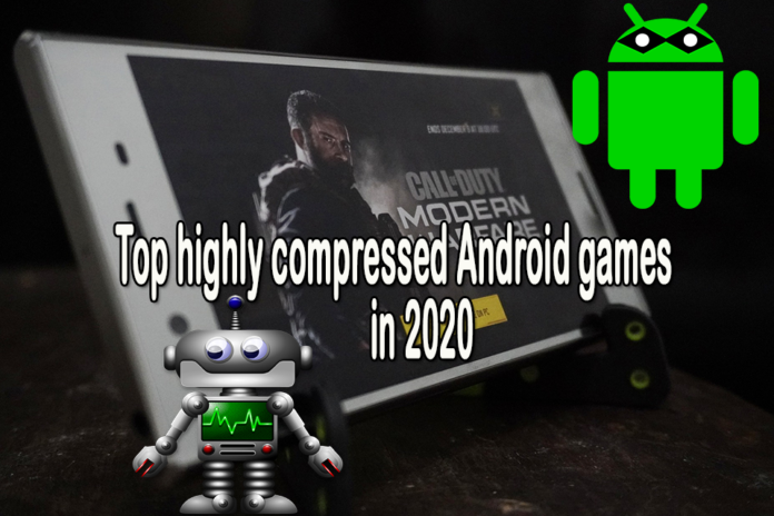 highly compressed Android games