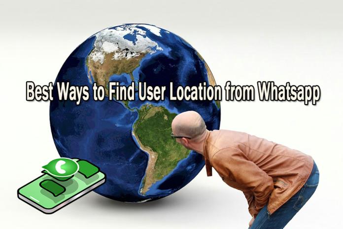 best ways to Find User Location from Whatsapp