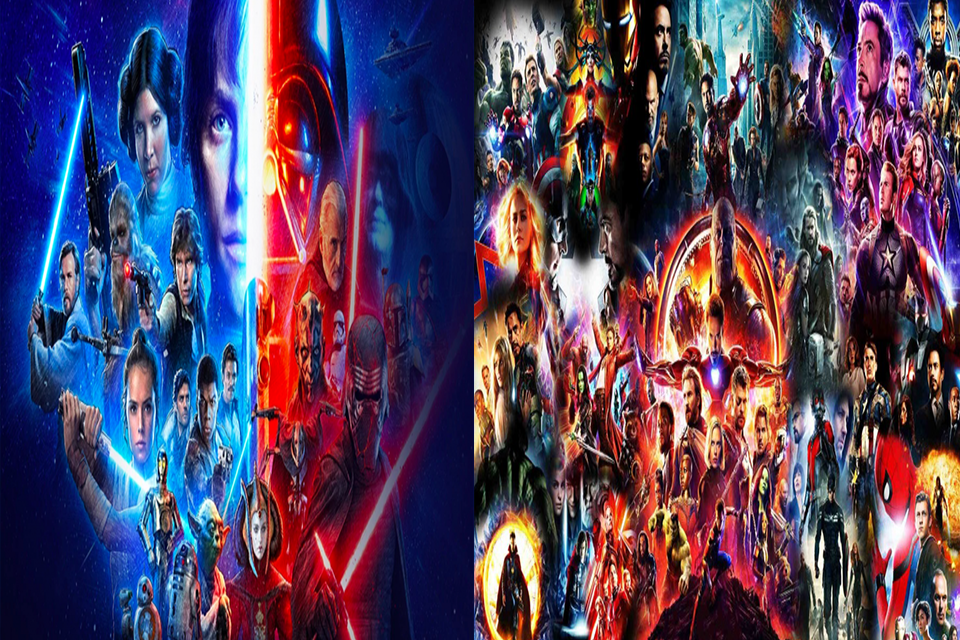 Marvel Cinematic Universe and Star Wars