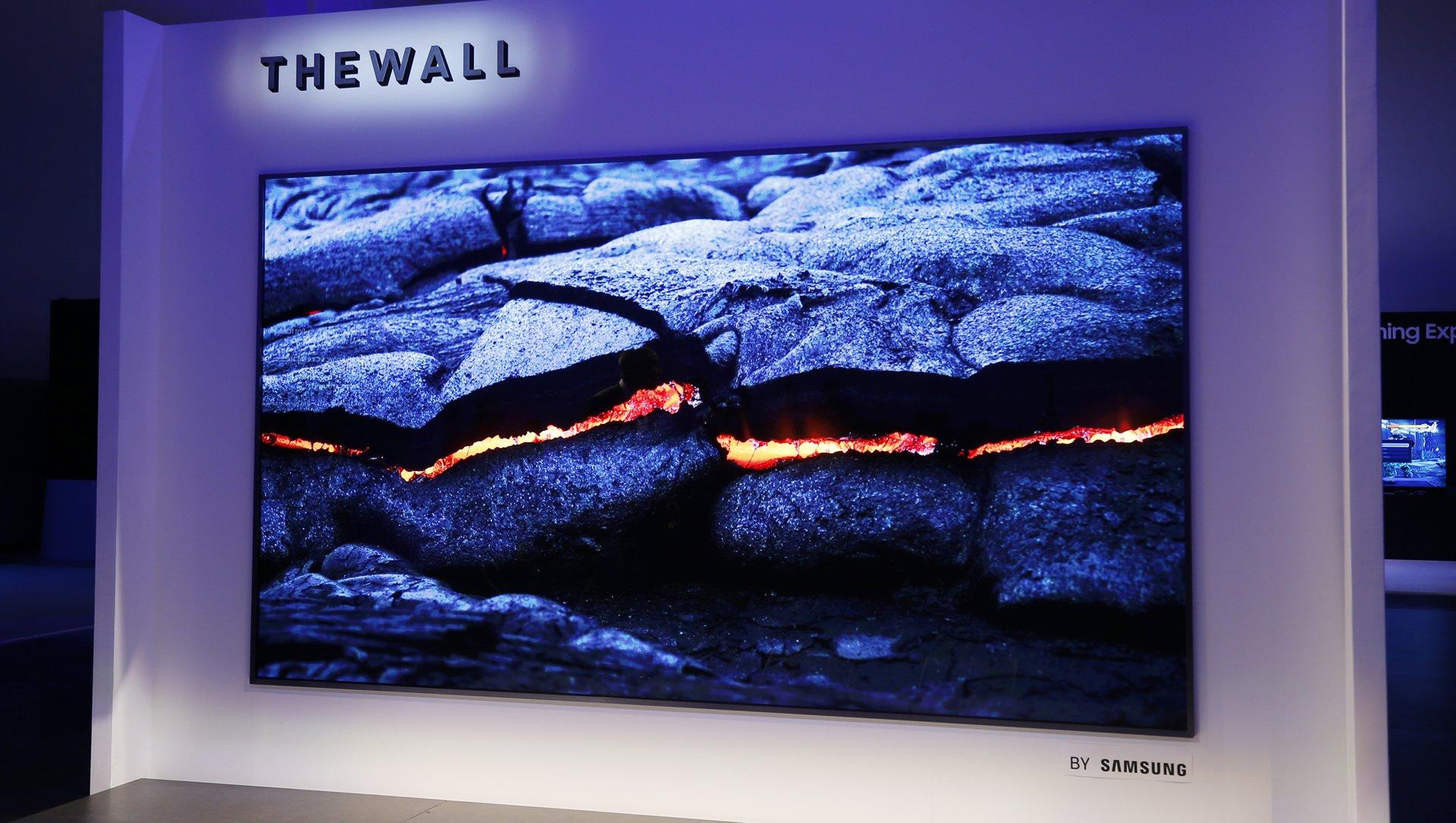 samung 219 inch the wall display