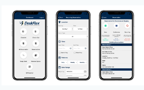 Deskflex app