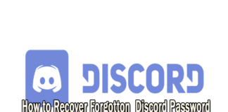 How to recover Discord Forgot Password