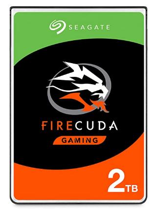 """Seagate FireCuda 2.5"""" 2TB SSHD"""